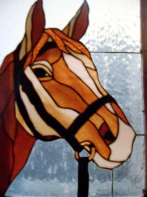 Fused Glass Horse